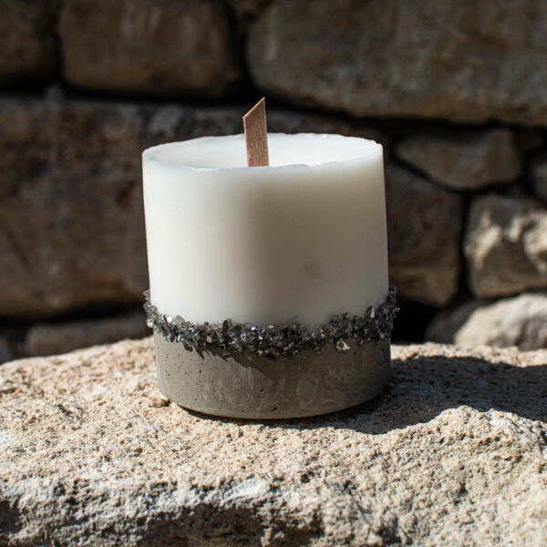 Cement Candles