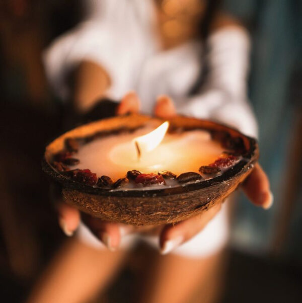 Coffee, Cream & Berries Candle