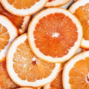 slices of oranges - wallpaper